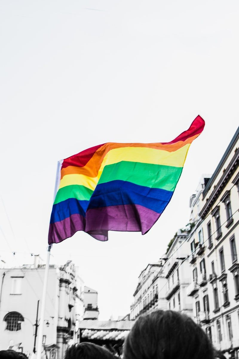 Pride flag Aesthetics in 2019 Pride Rainbow images Pride parade 800x1200