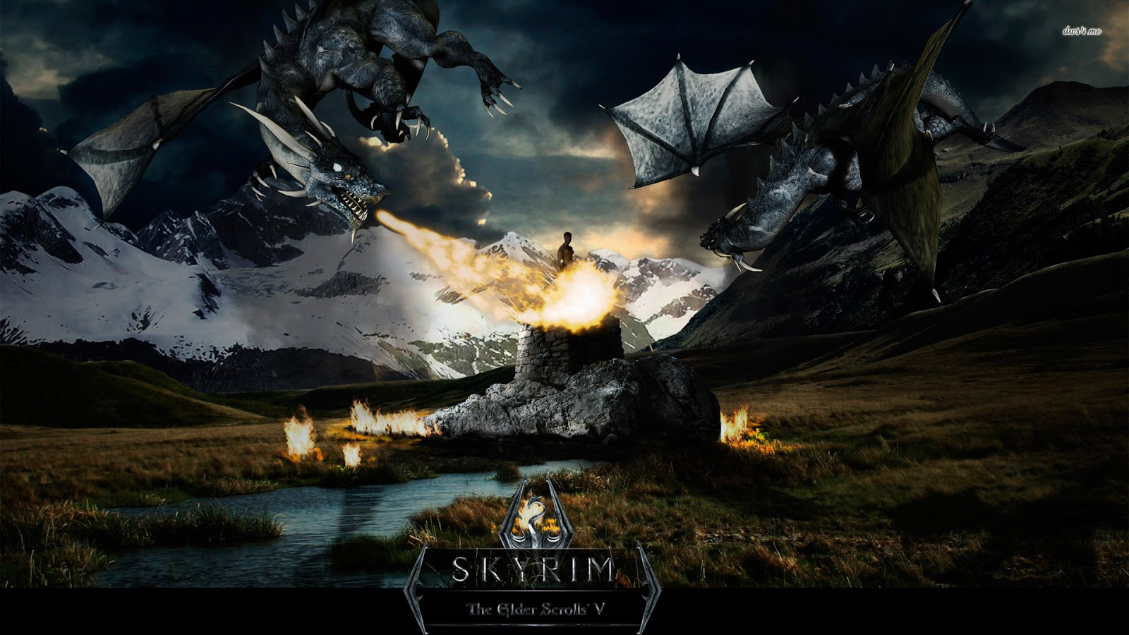 Skyrim HD Wallpapers Backgrounds HQ Wallpapers   Wallpapers 1600x900