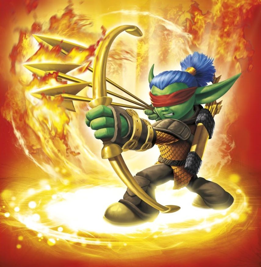Flameslinger Skylanders Skylanders Skylanders spyro Number 1 855x875