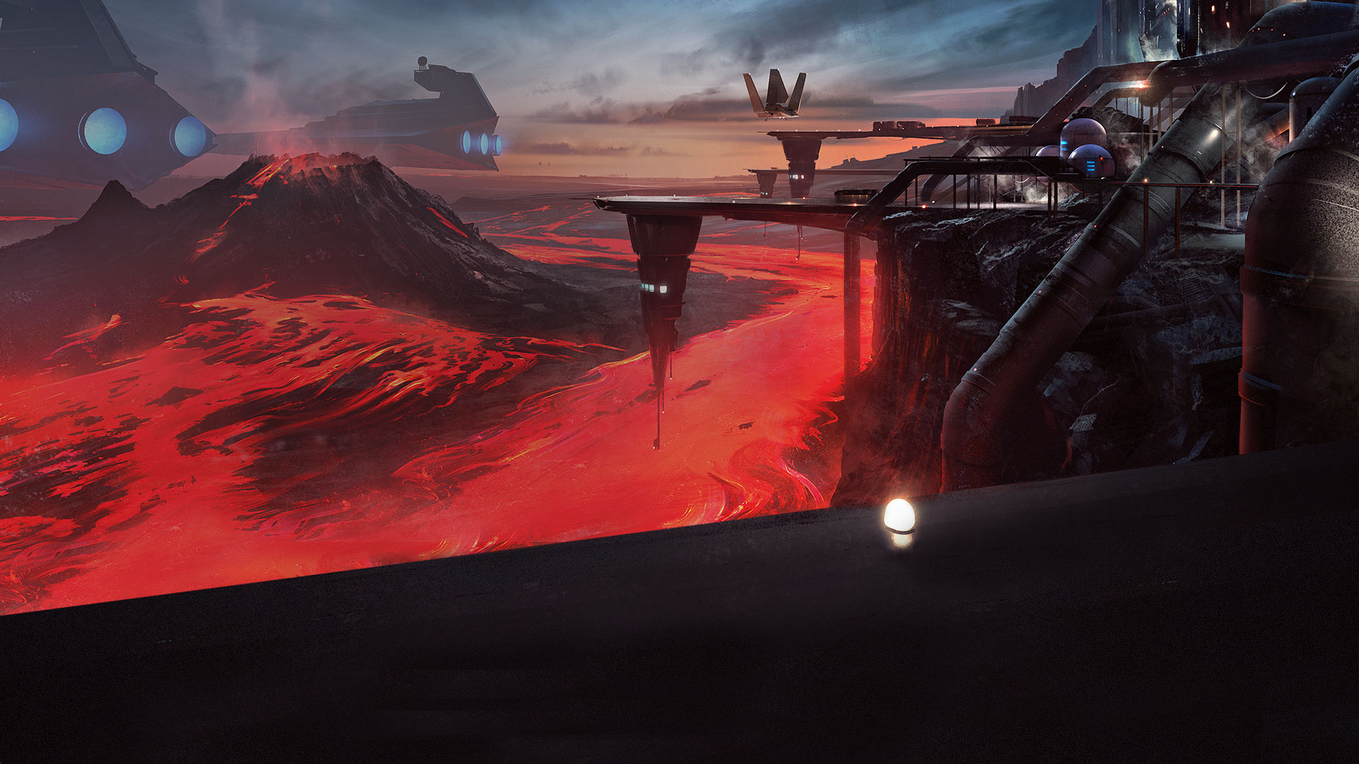Star Wars Battlefront Outer Rim DLC HD Wallpaper Background 1920x1080