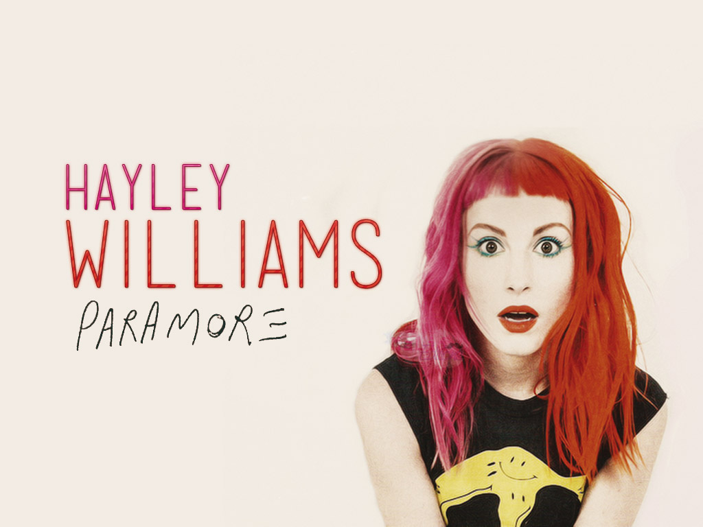 Wallpaper   Hayley Williams by MaaLiiPattinson 1024x768