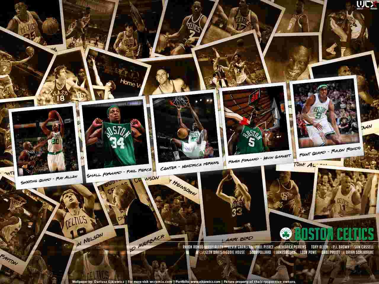 Boston Celtics 2008 Polaroid wallpaper   Basketball   Sport 1280x960