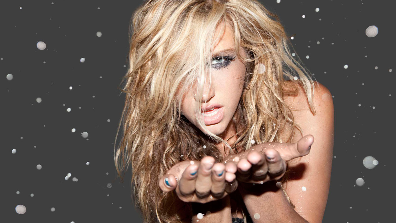 Pics Photos   Kesha Wallpaper 1366x768