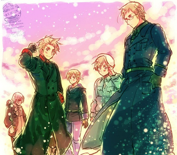 hetalia nordics wallpaperHetalia FranceCutest Hetalia 3sir 600x526