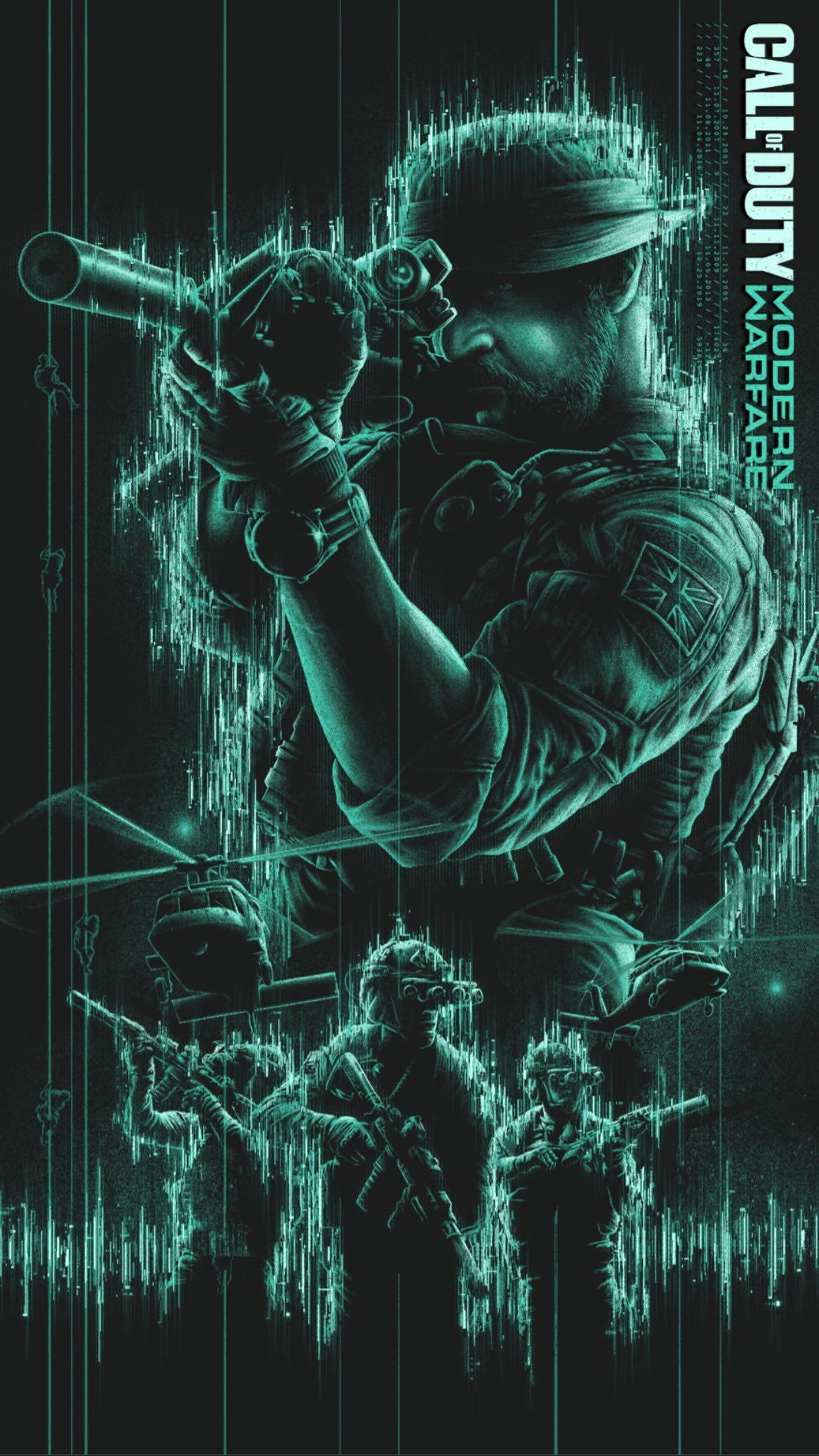 Call of duty Modern Warfare Mobile Phone Wallpaper set 12 of 17 1242x2208