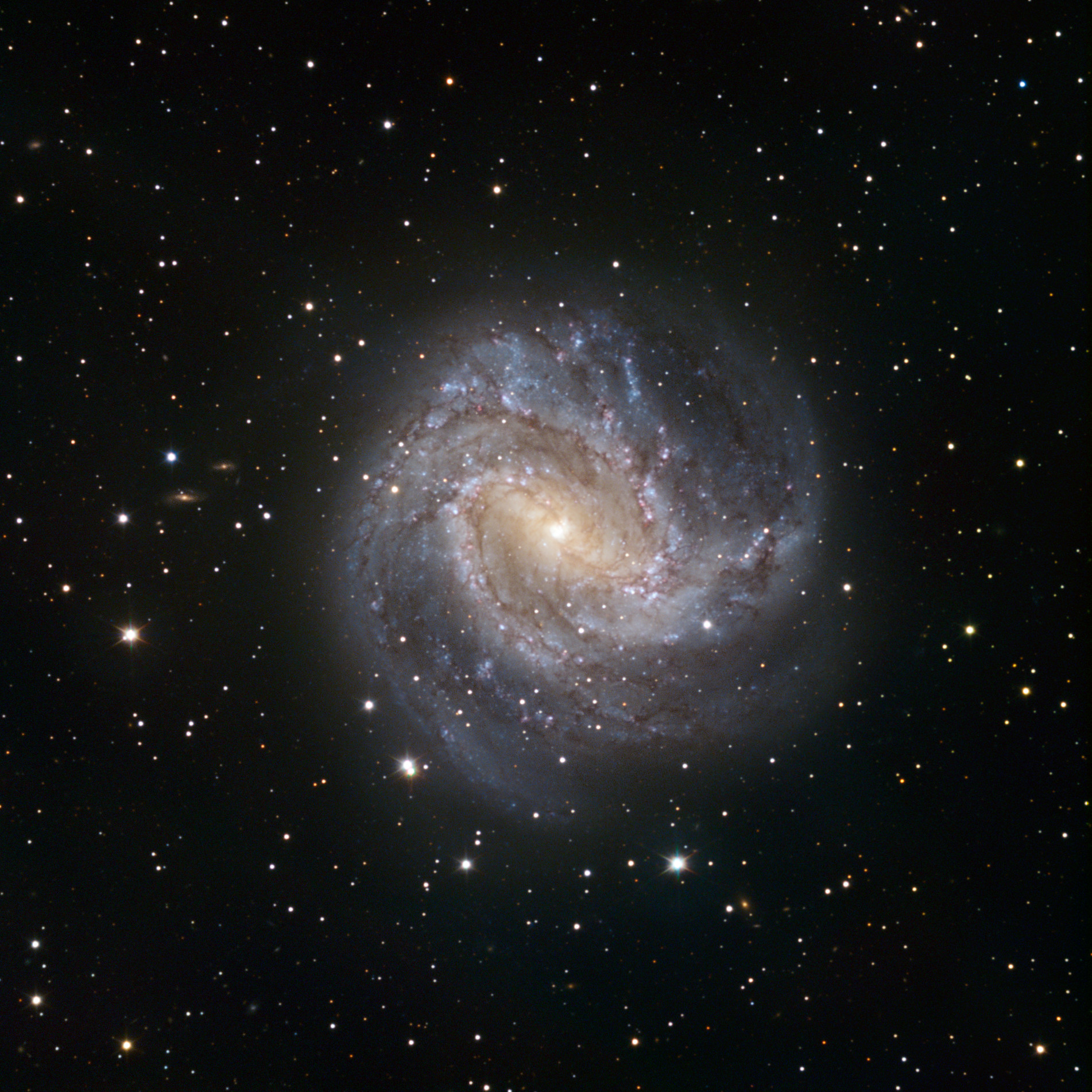 TRAPPIST First Light Image of the Spiral Galaxy Messier 83 1902x1902