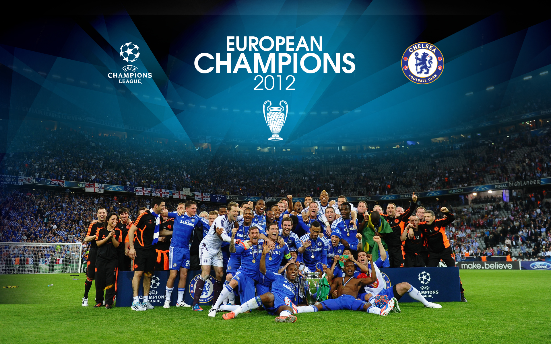 Chelsea Wallpaper Champions League 1920x1200