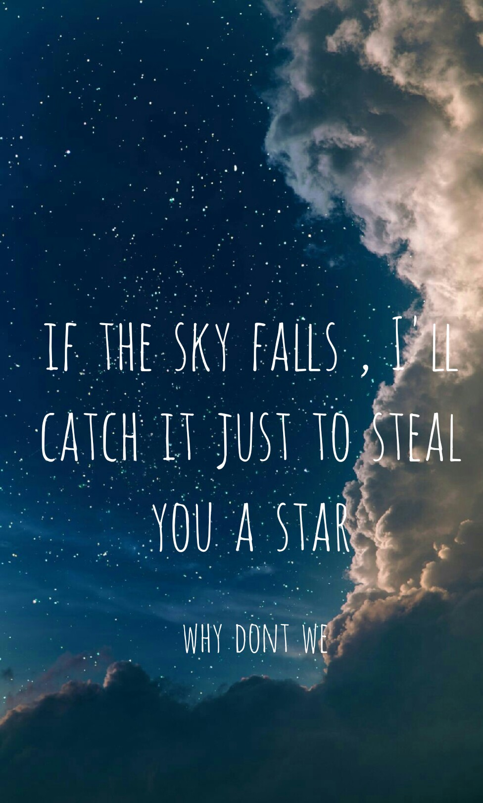 Why dont we Wallpaper Samsung wallpaper Lyrics from why 976x1620