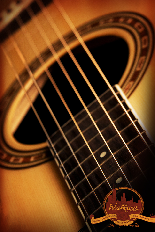 acoustic guitar wallpaper high resolution acoustic guitar close up 640x960