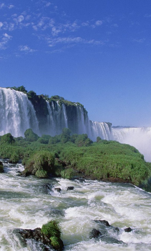Iguazu Falls HD Live Wallpapers Live wallpapers HD for Android 480x800