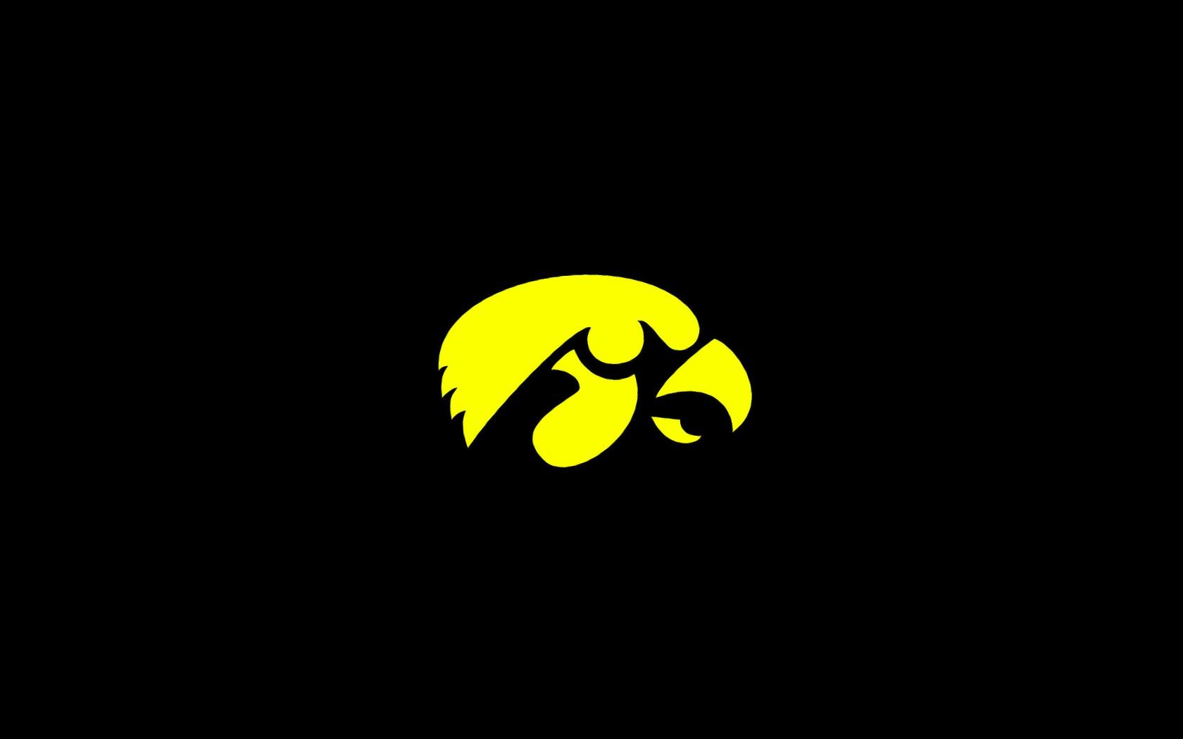 Iowa Hawkeye Herky Logo wallpaper002 1680x1050