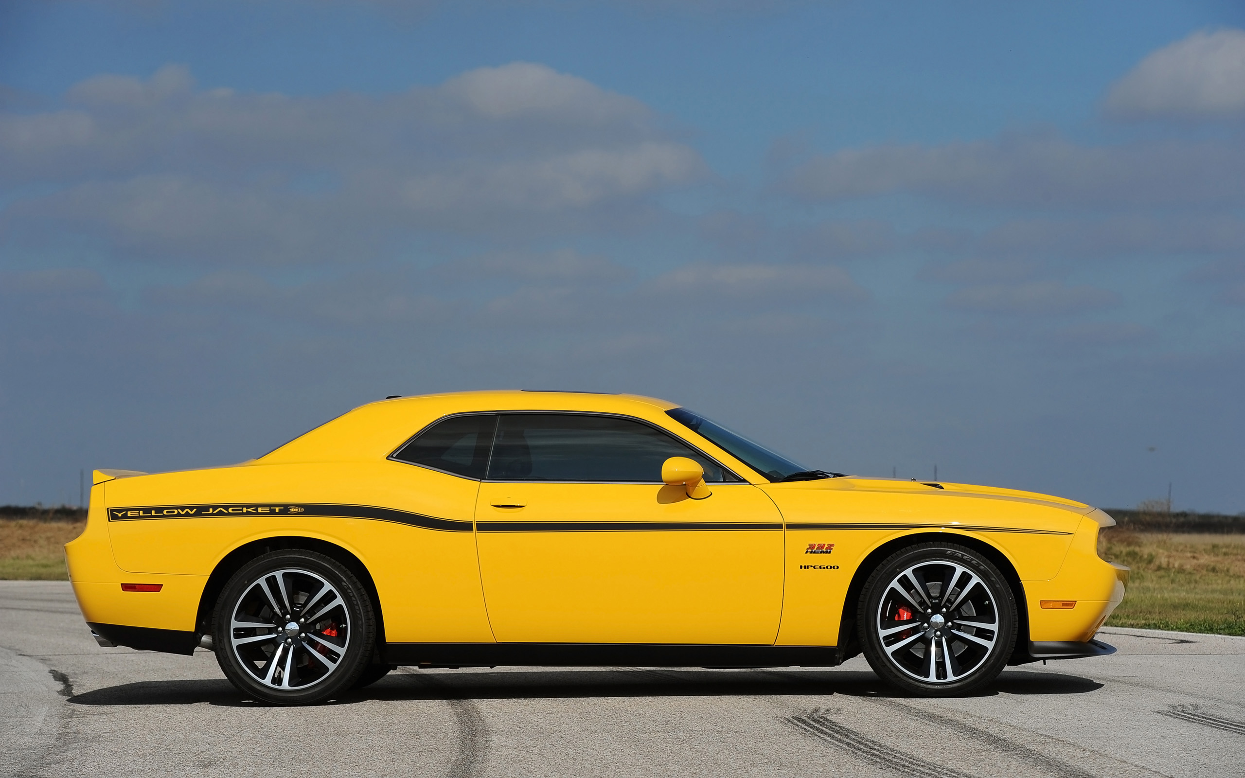 2013 Hennessey Dodge Challenger SRT8 392 Yellow Jacket 2560x1600