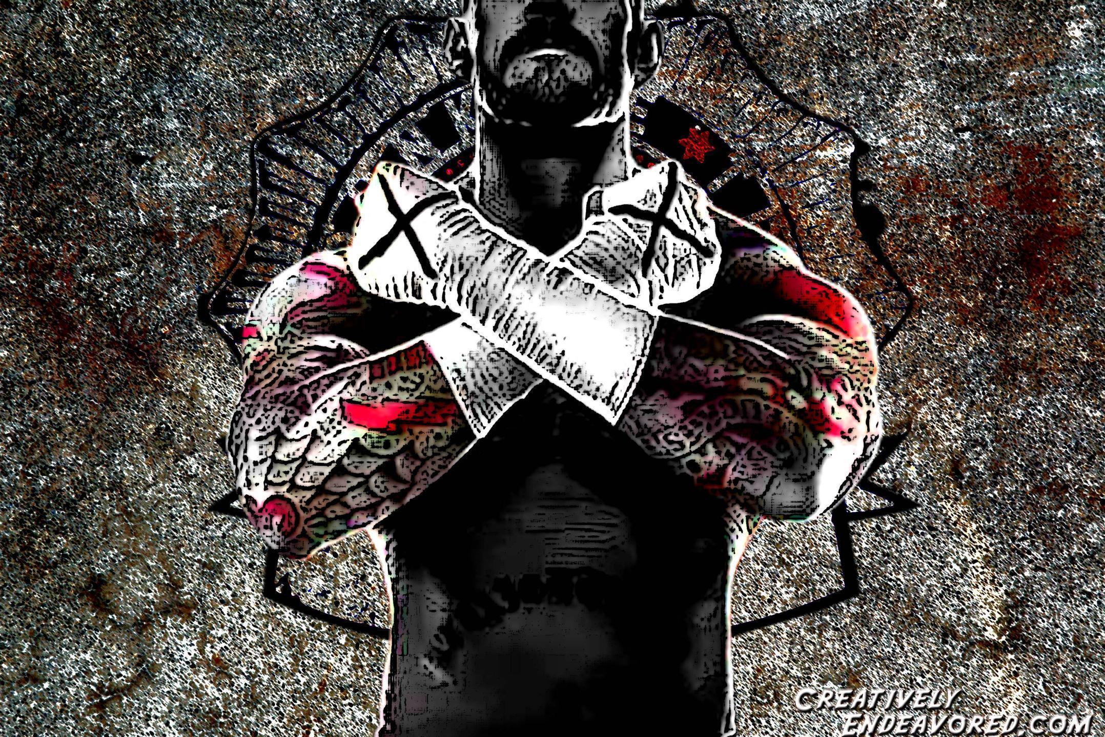 CM Punk Logo Wallpapers 2156x1439