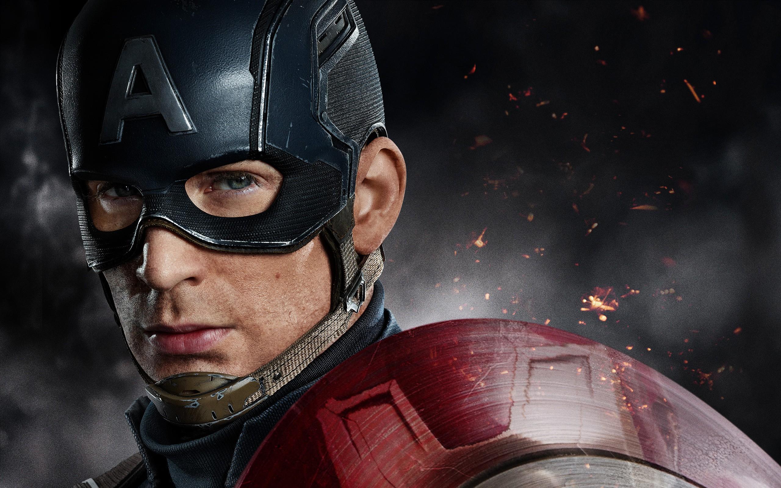 Captain America Civil War Chris Evans   New HD Wallpapers 2560x1600