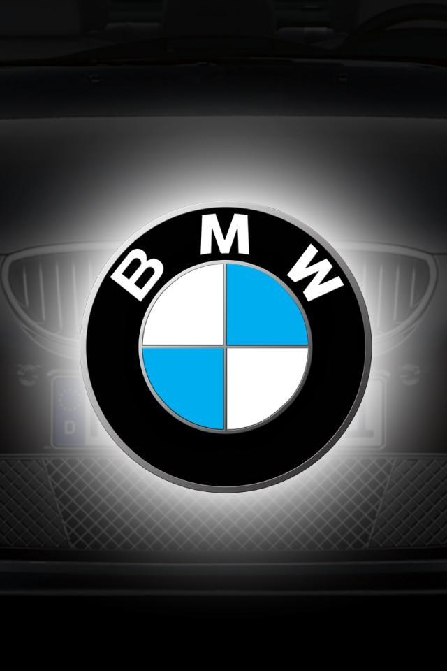 bmw logo wallpaper hd bmw   hd 960x640 640x960