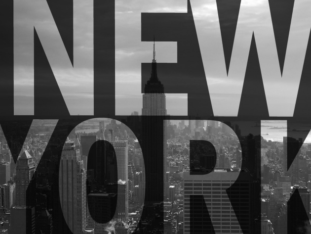 Wallpaper Black and White New York   Photos and Walls 630x473