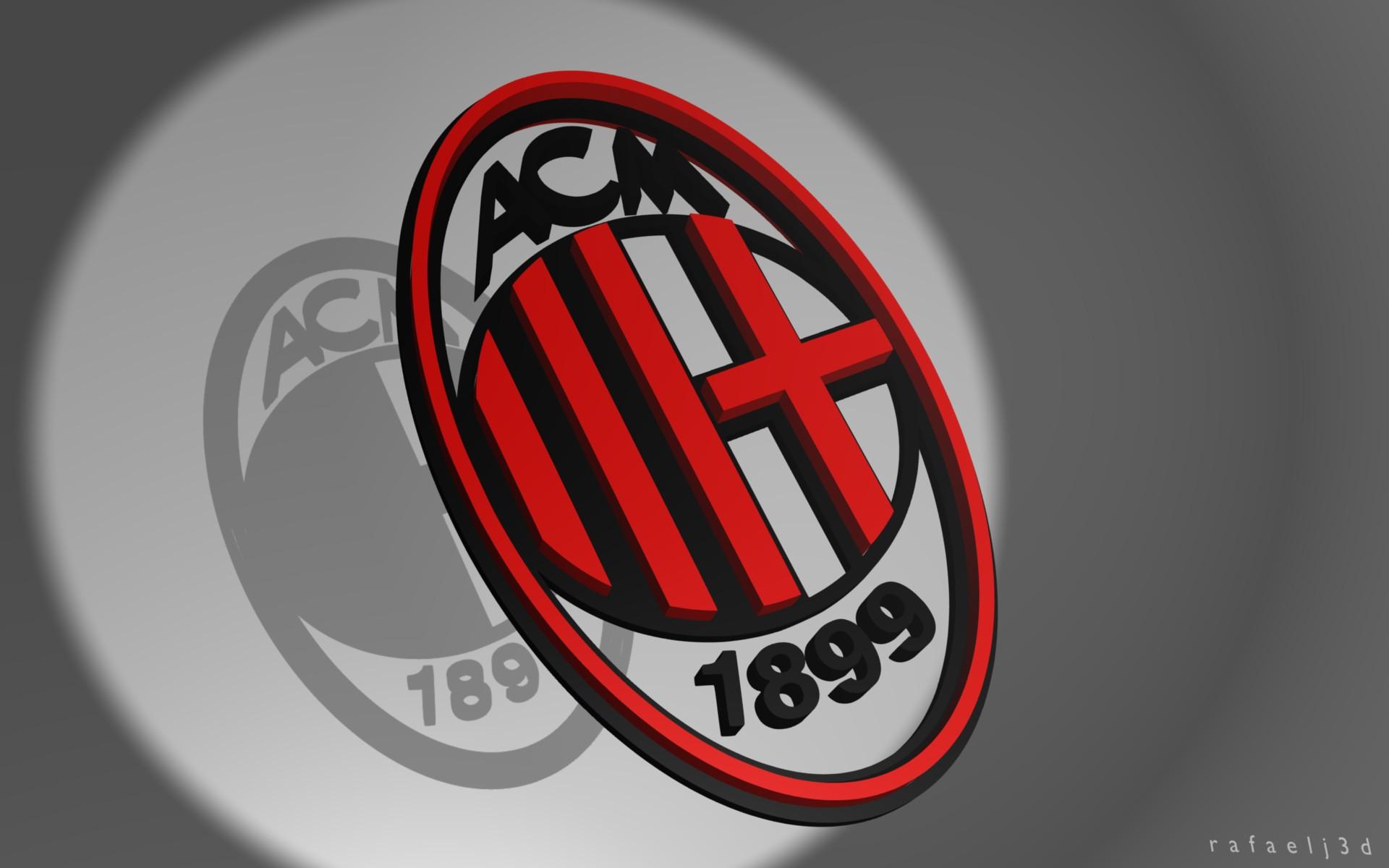 AC Milan FC Logo 2013 HD Wallpaper AC Milan FC Logo 2013 1920x1200