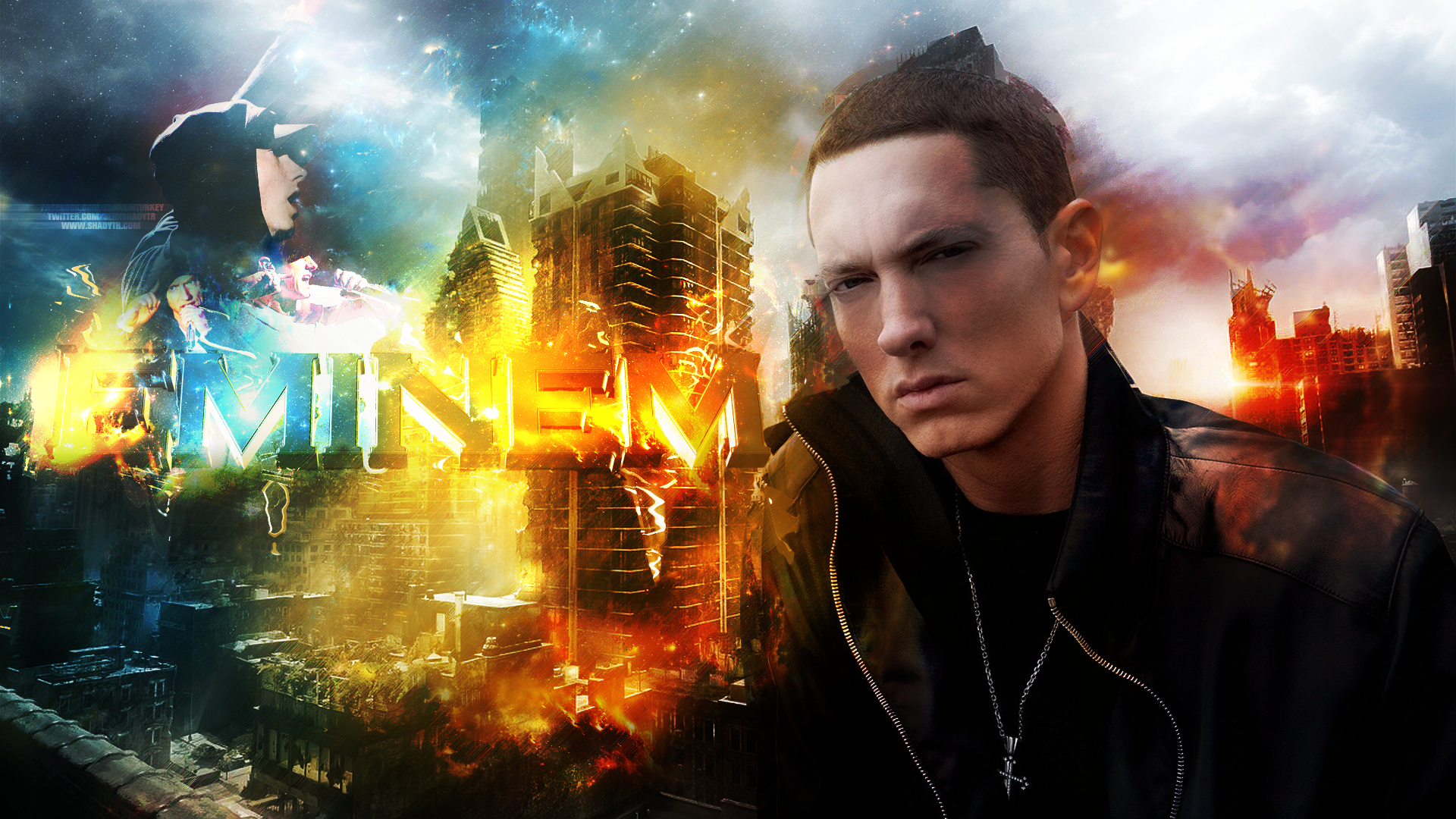 Eminem HD 6 Rap Wallpapers 1920x1080