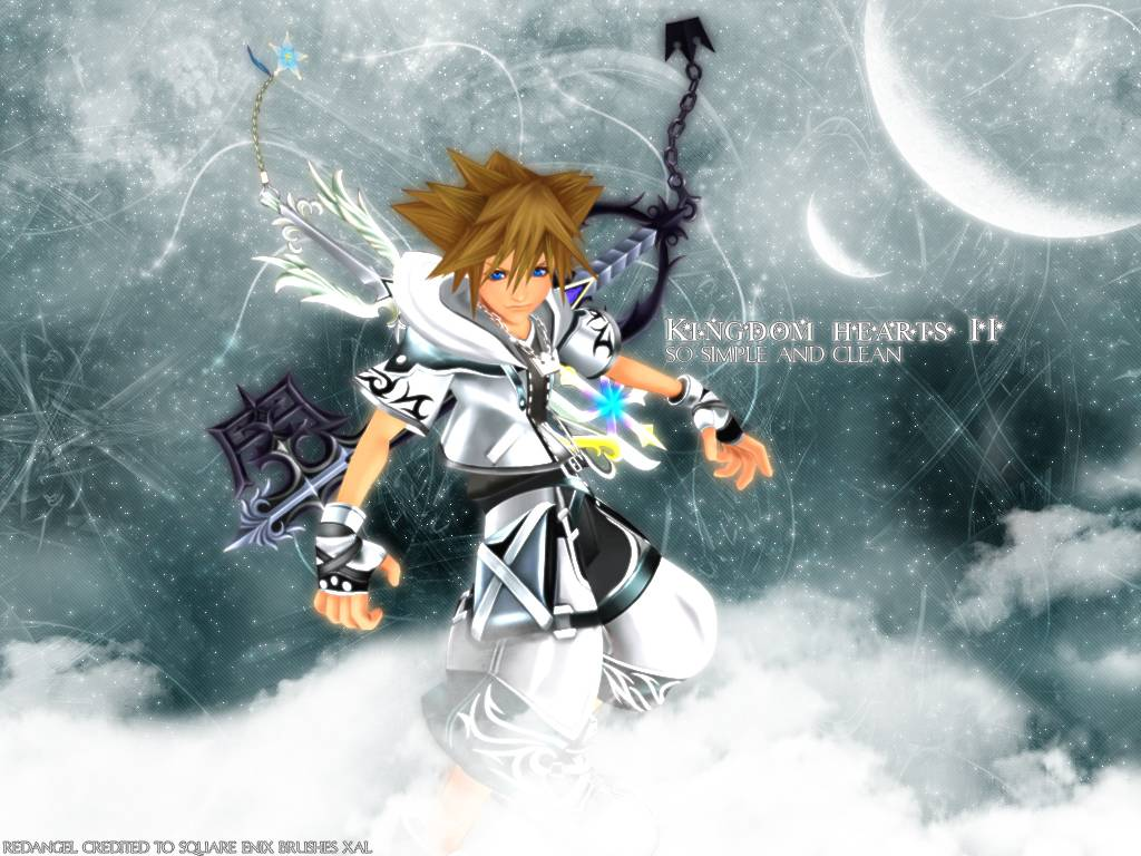 Kingdom Hearts PC Game Desktop Background 04 Imagez Only 1024x768