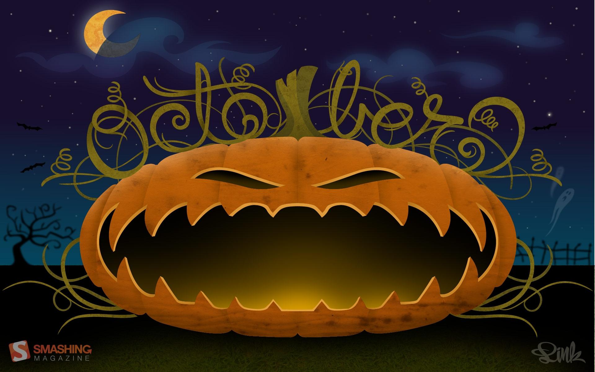 Free Halloween Wallpaper For Desktop - WallpaperSafari