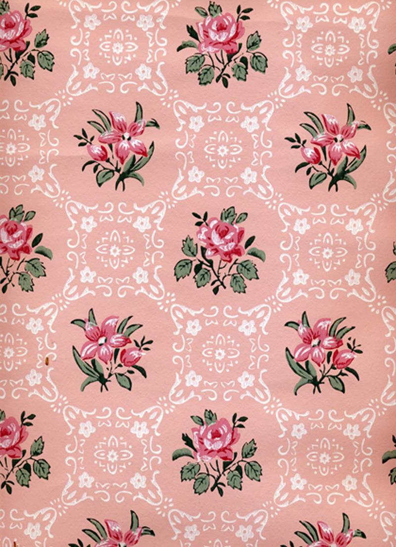 Sabryllinas I love vintage wallpaper 800x1105