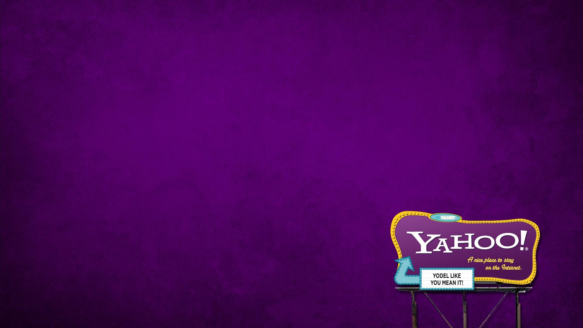 Yahoo Background Wallpaper 1920x1080