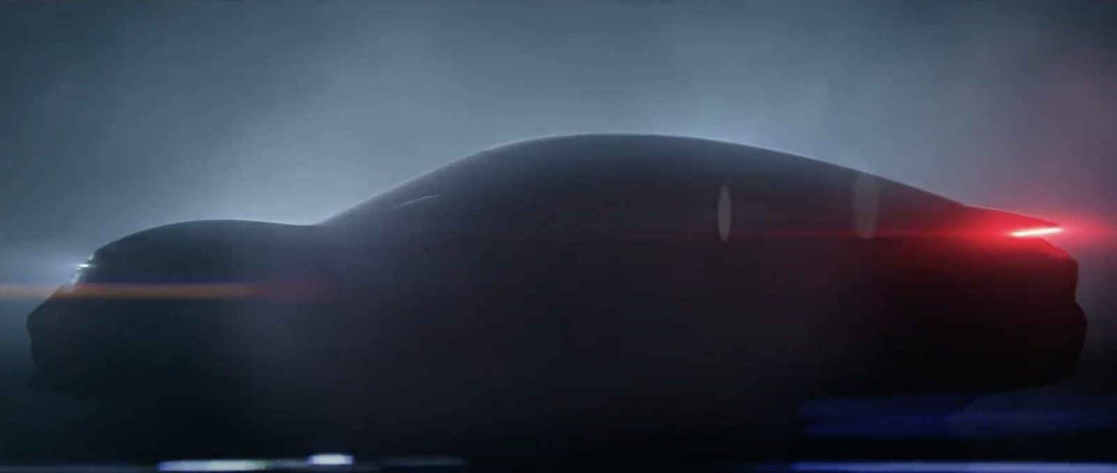 Porsche releases first teaser images of new Taycan Mission E 1600x678