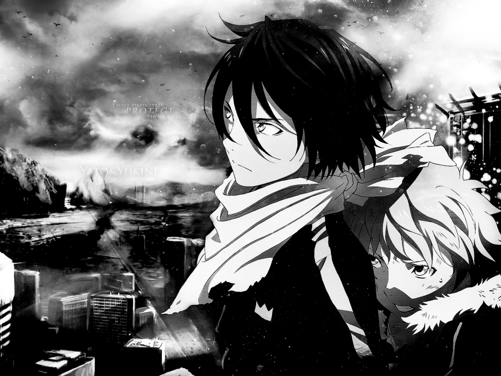 Group Of Yato Noragami Aragoto Wallpaper