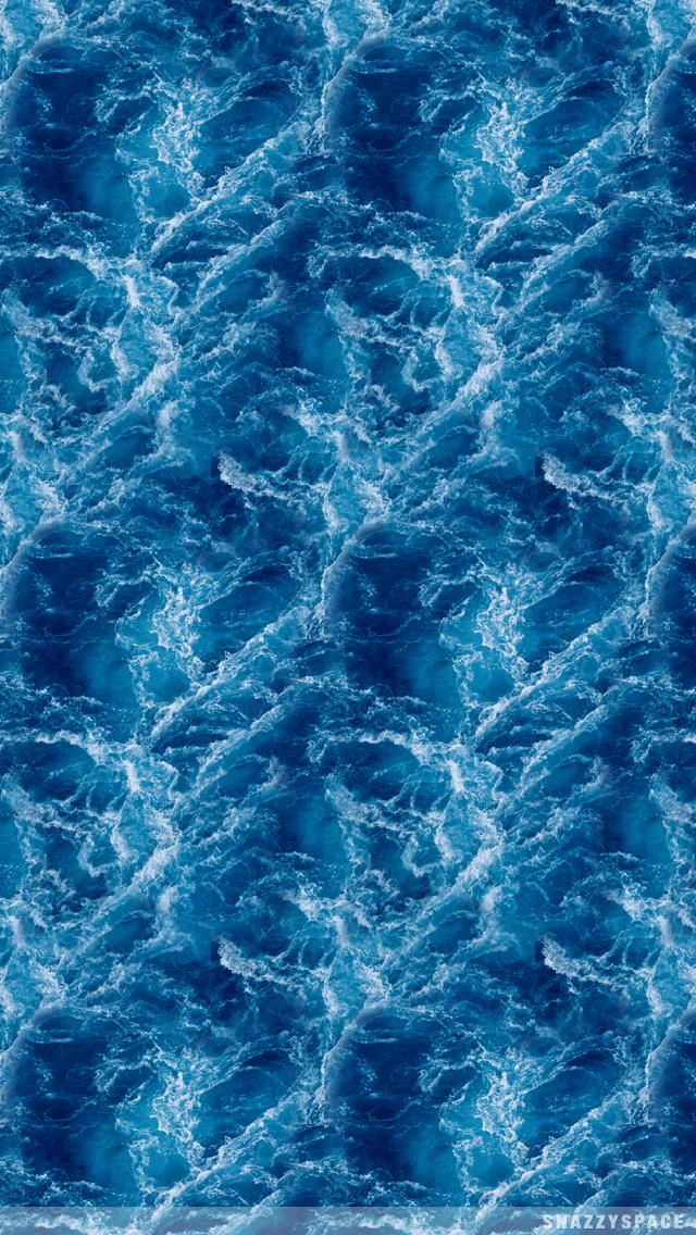 Deep Blue Ocean iPhone Wallpaper 640x1136
