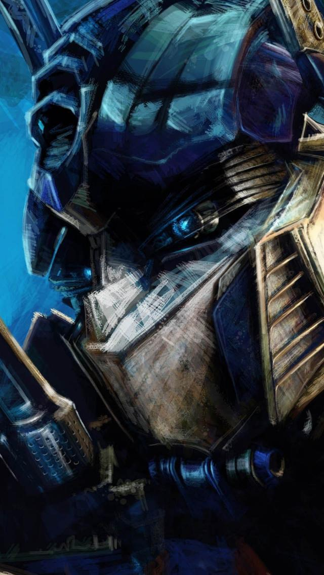 Transformers Optimus Prime Artwork   The iPhone Wallpapers 640x1136