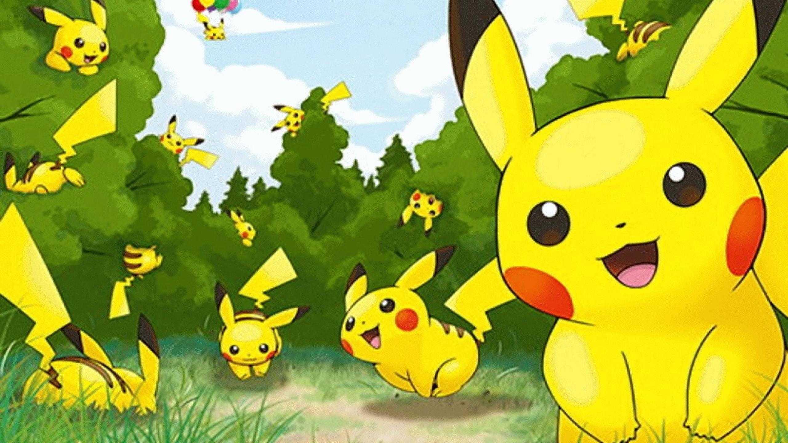 Pokemon Wallpaper Hd Pikachu HD Wallpapers 2560x1440