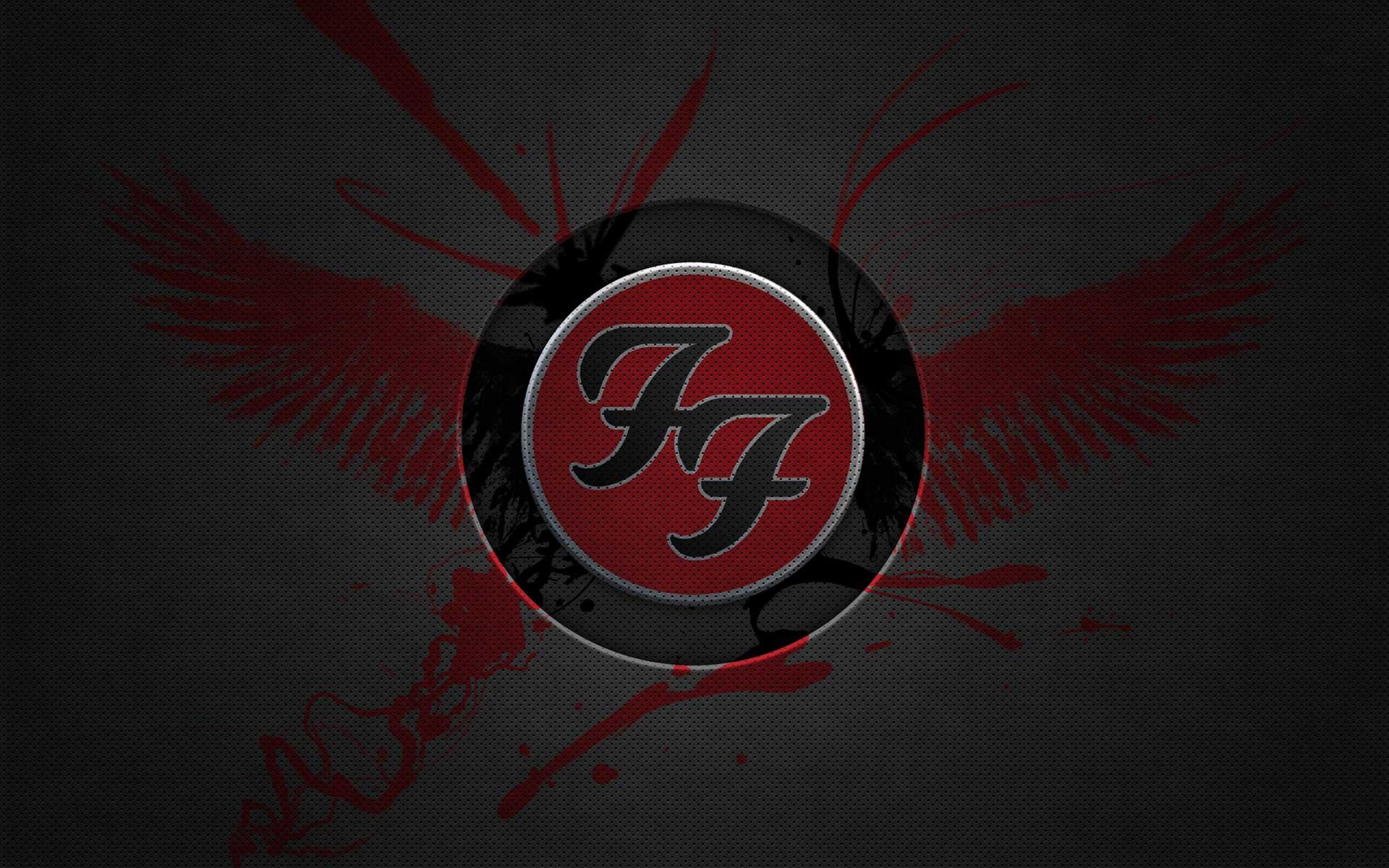 foo fighters wallpaper logo 1920x1200