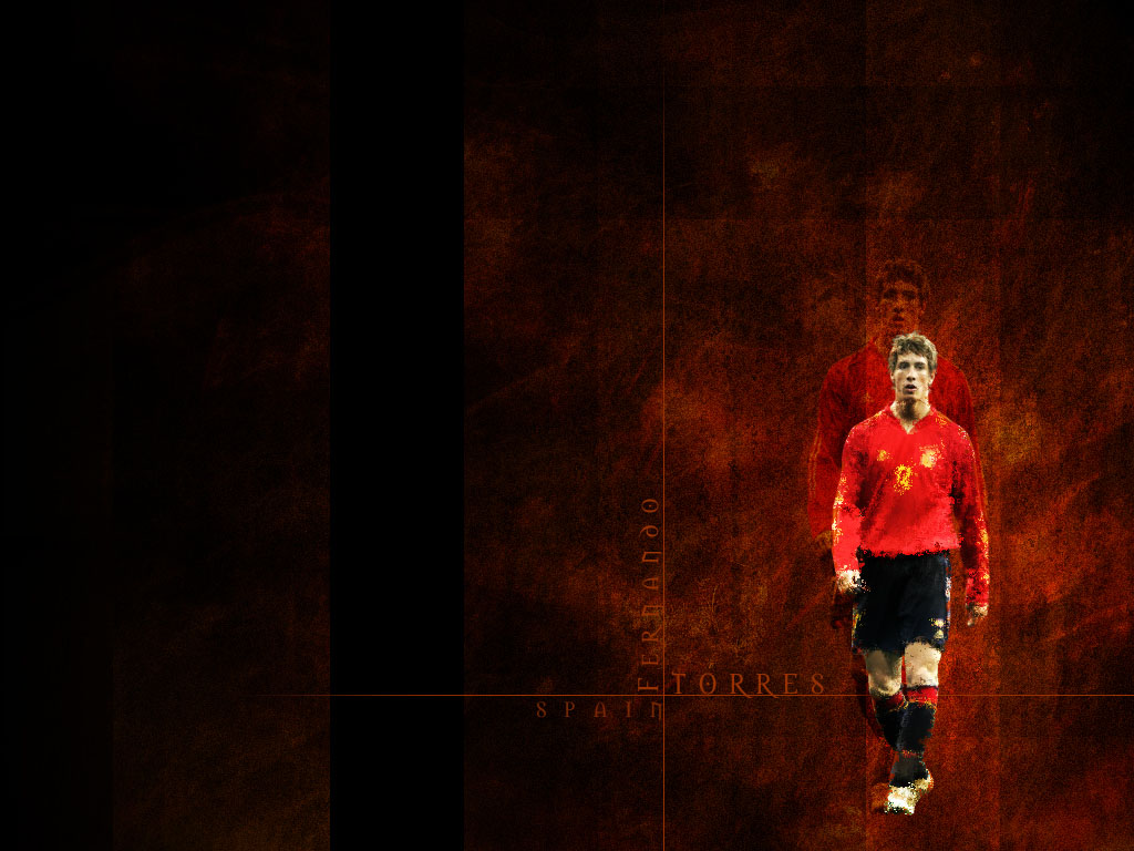 Fernando Torres Spain Wallpaper 1024x768