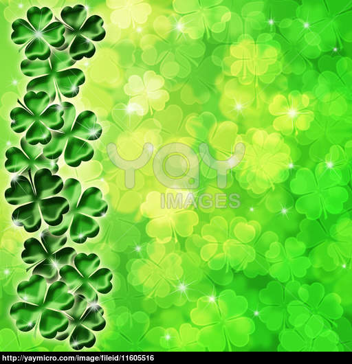 Irish Shamrock Wallpaper Lucky irish four leaf clover 512x530