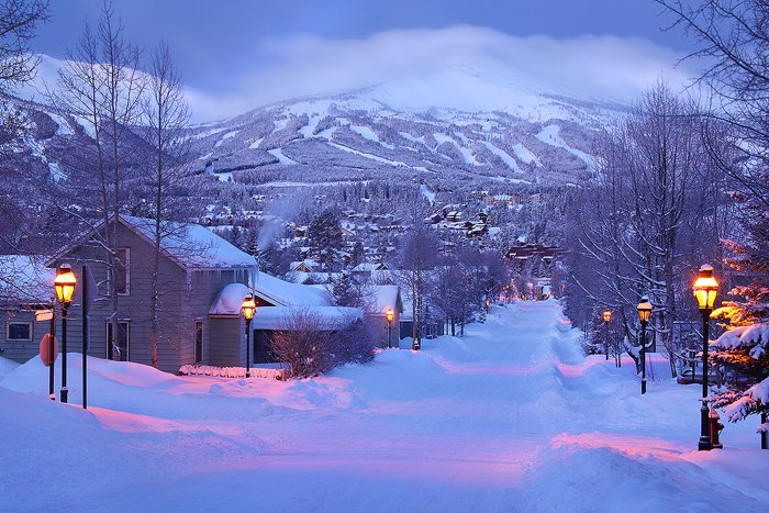 Winter Morning   Breckenridge Colorado Breckenridge Colorado Nate 700x467