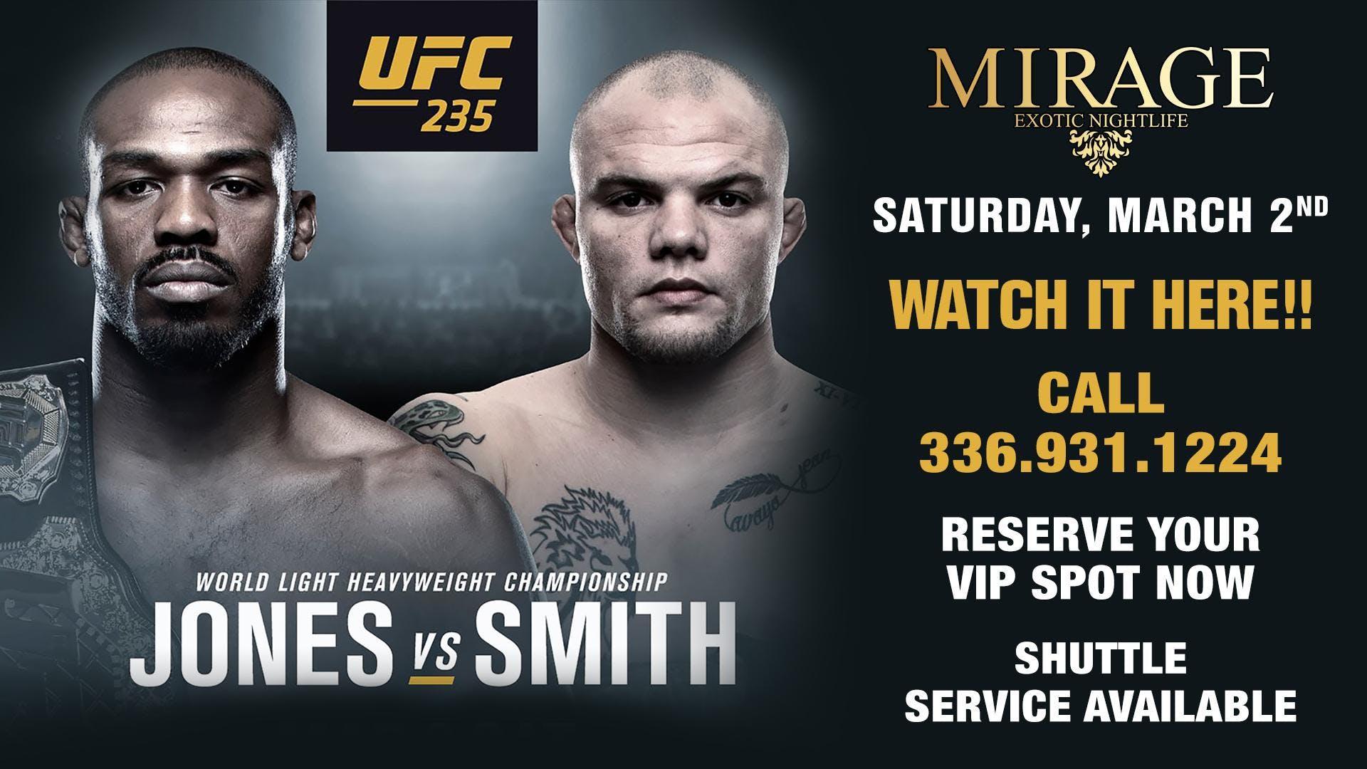 Mirage Exotic Nightlife   UFC 235   Jones Vs Smith   2 MAR 2019 1920x1080