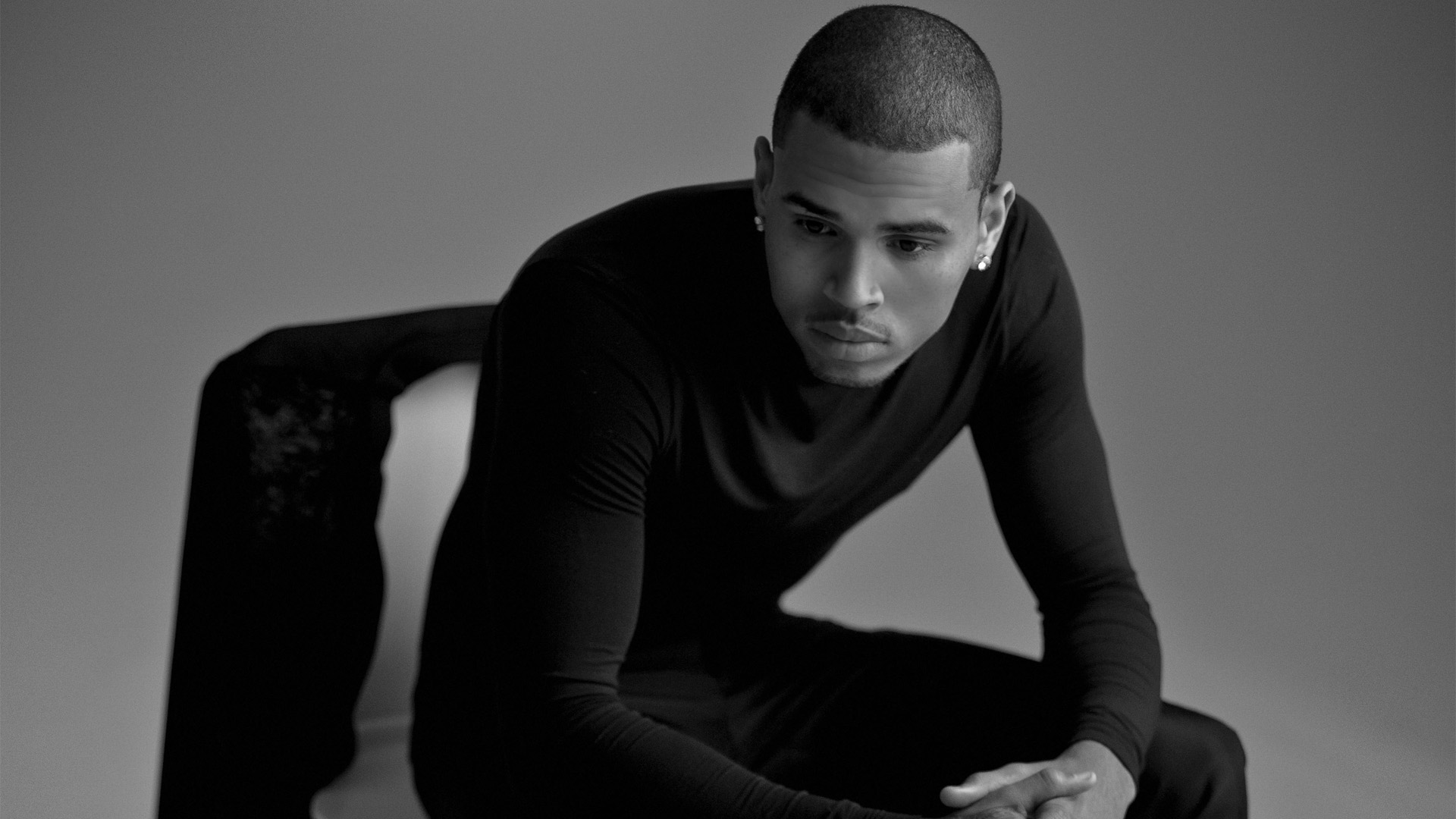 Chris Brown Black and White Exclusive HD Wallpapers 4362 1920x1080