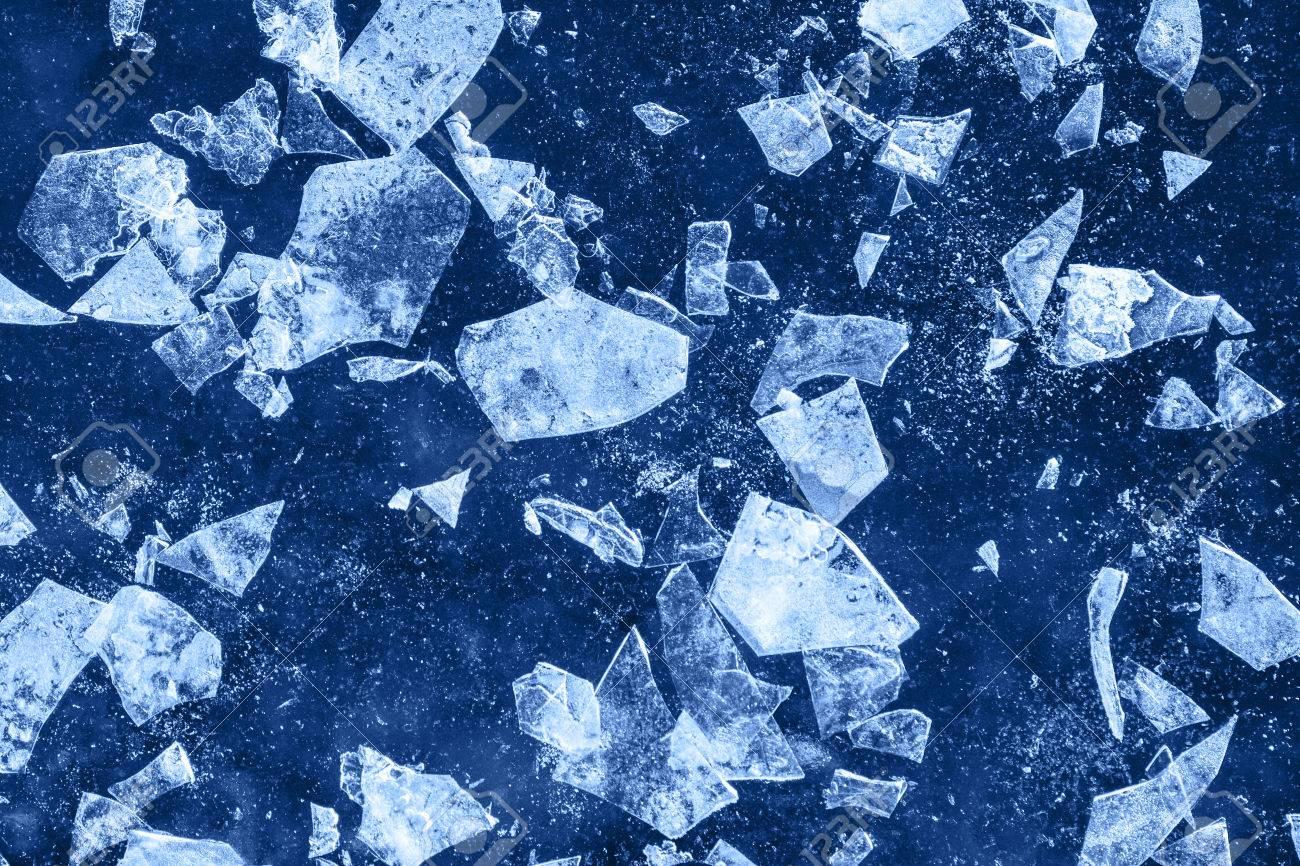 Textured Ice Debris Blue Cold Frozen Crash Winter Background Stock 1300x866
