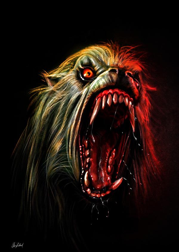 Werewolf by ArtofOkan 600x843