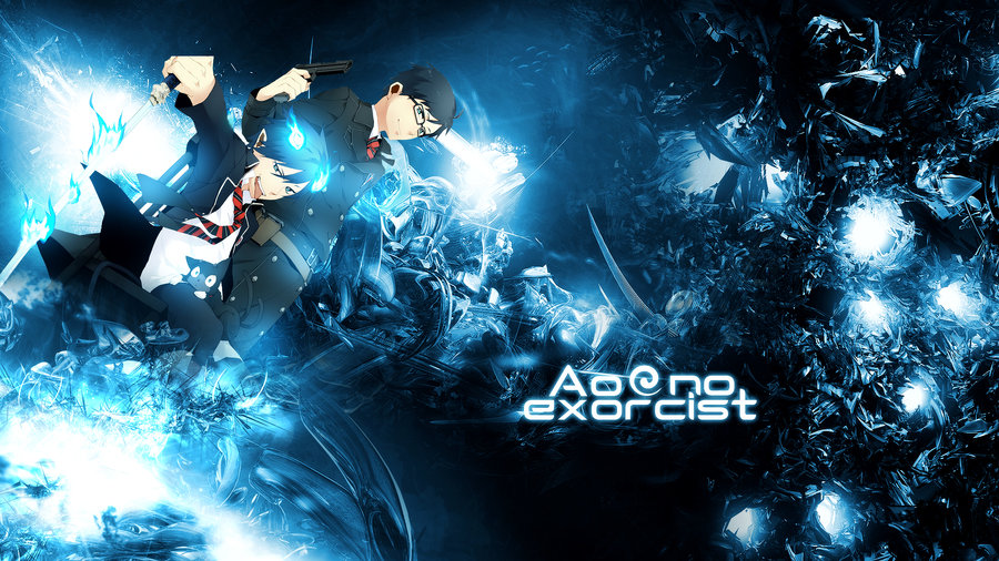 Wallpaper Ao no Exorcist HD by Sl4ifer 900x506