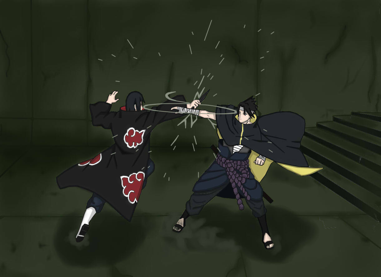 Sasuke and Itachi Wallpaper HD - WallpaperSafari