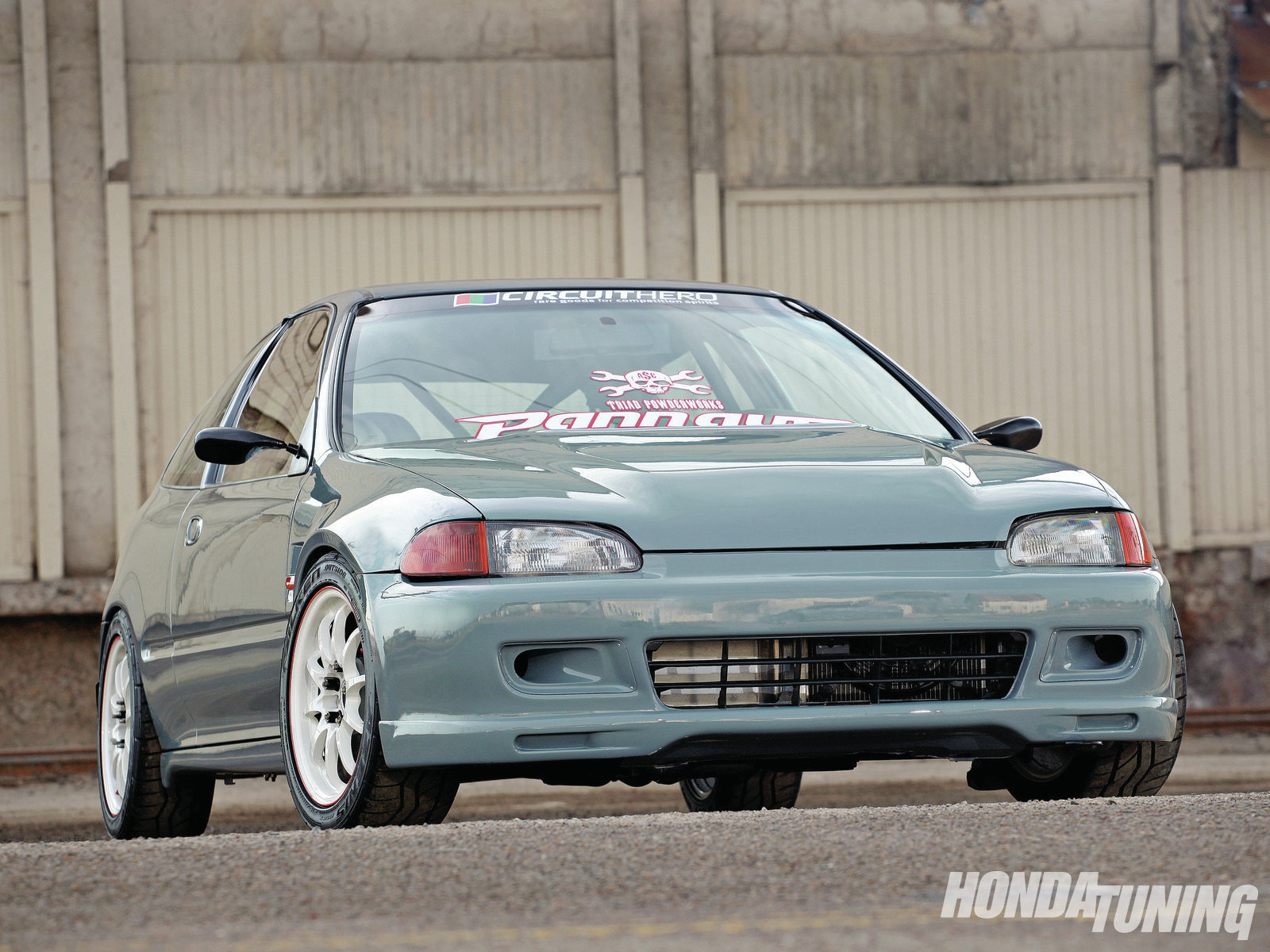 1993 Honda Civic CX   Gray Matter   Honda Tuning Magazine 1600x1200