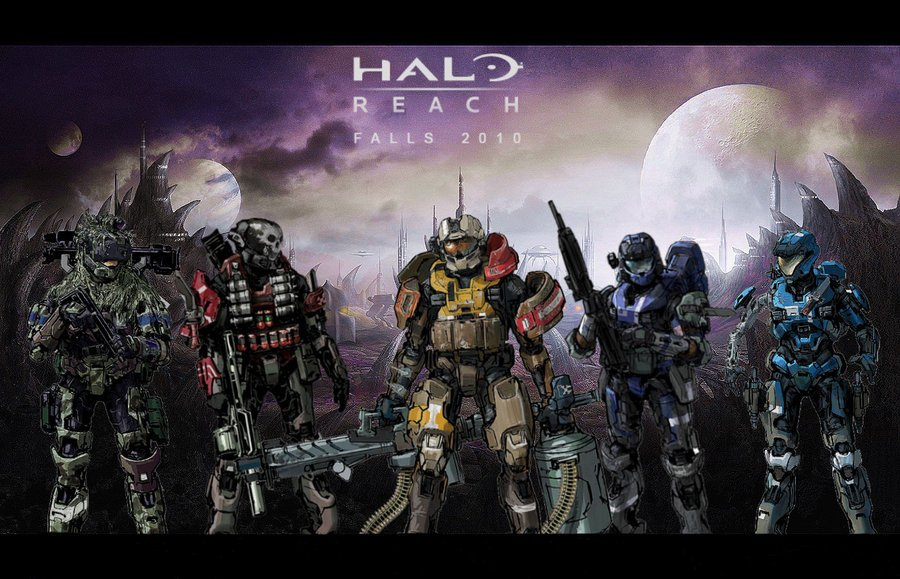 amazing halo reach concept wallpaper wallpapers55com   Best 900x579