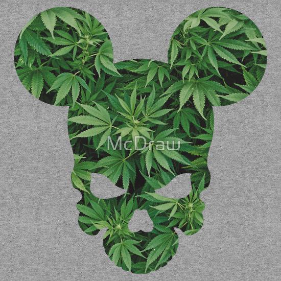marijuana smoking weed skull 550x550