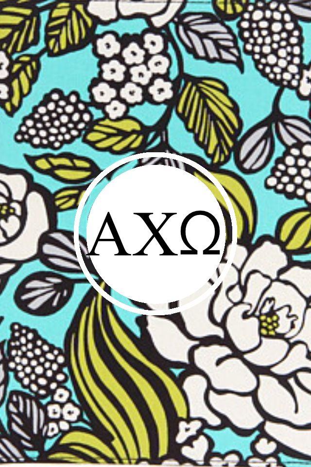 chi omega Vera Bradley monogram iPhone background Alpha Chi Omega 640x960