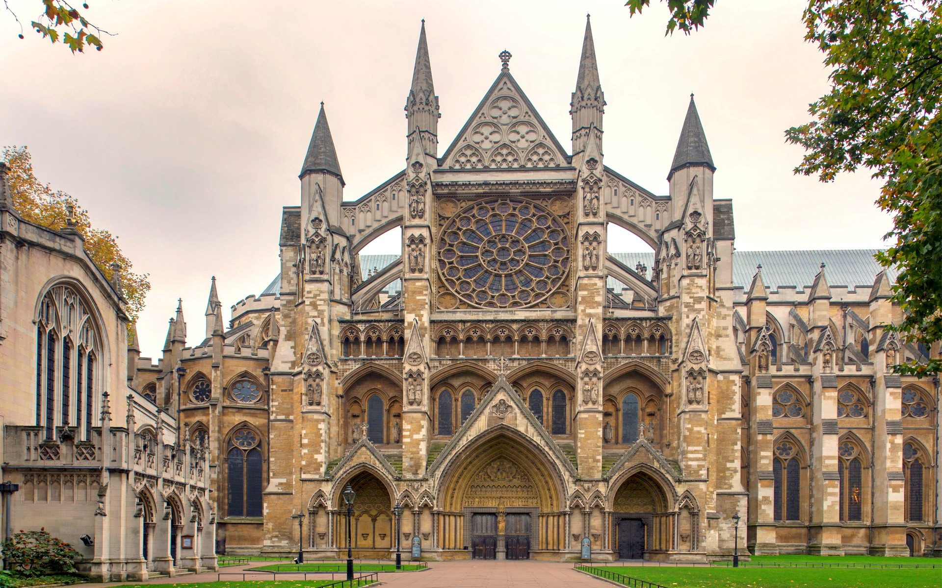 Westminster Abbey Collegiate Church in UK HD Wallpapers 1920x1200