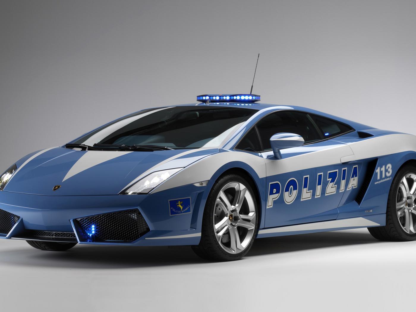 Police Wallpaper Cars police lamborghini 1400x1050