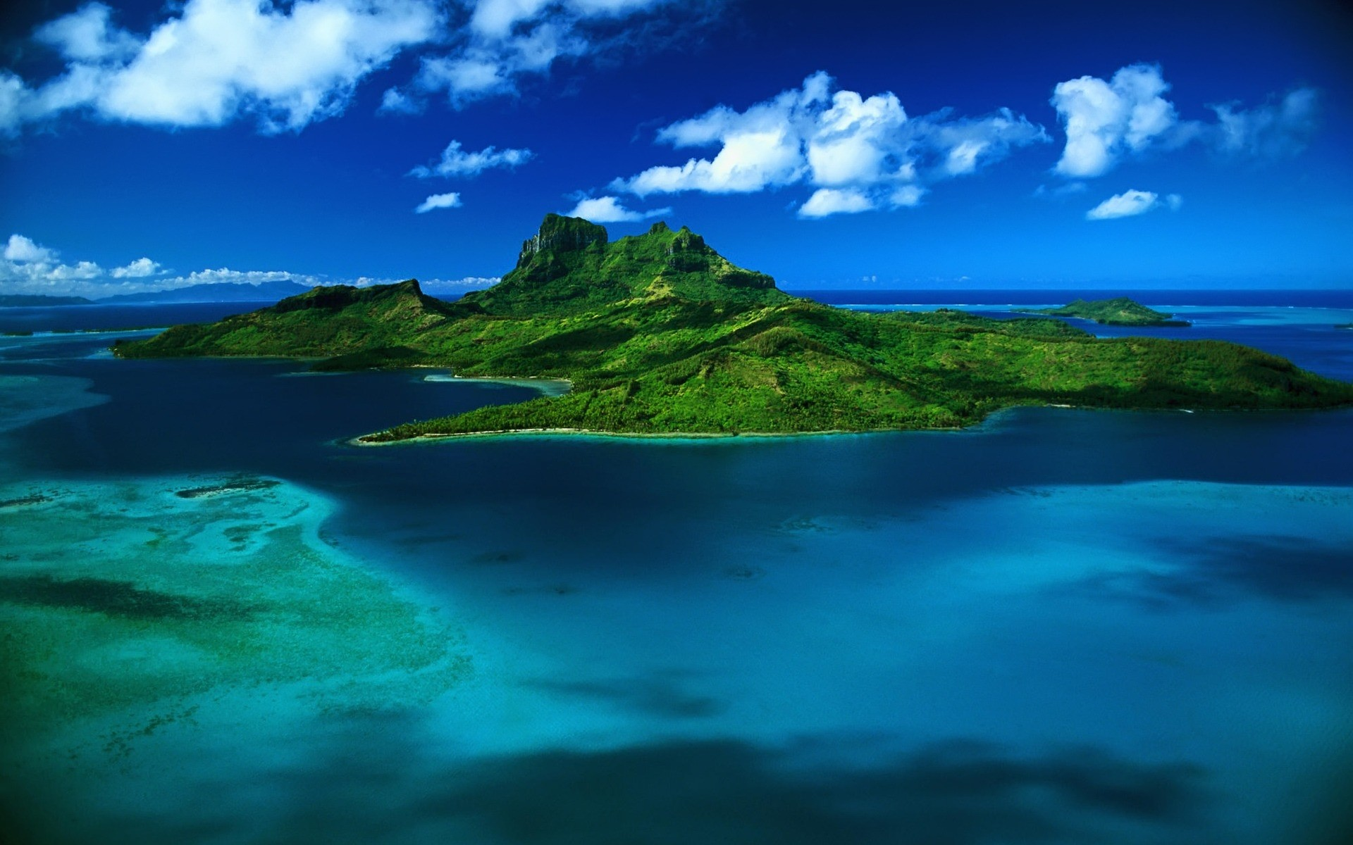 Tropical Island Desktop Backgrounds 1920x1200