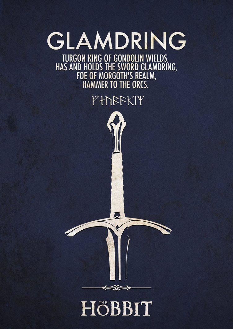 Gandalfs sword Middle Earth Pinterest The Hobbit Lord of 752x1063