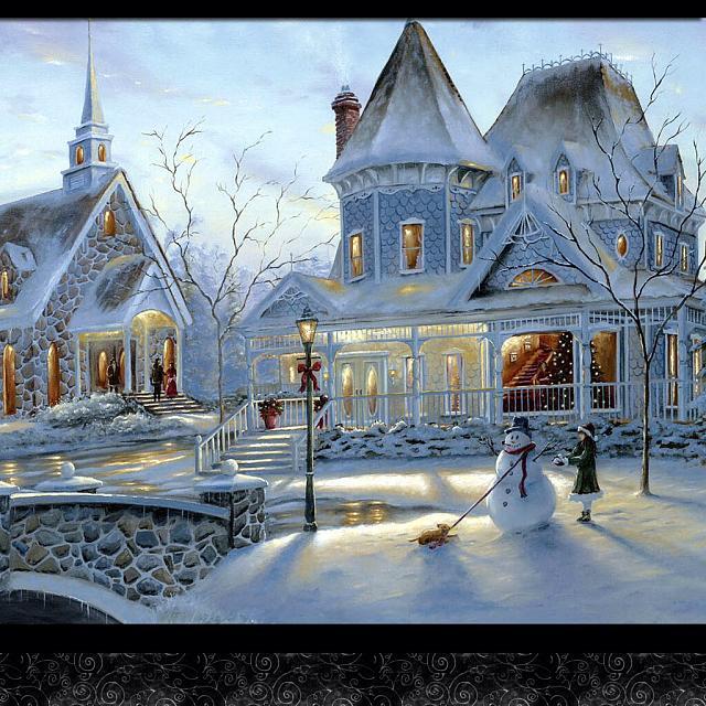 Ipad Mini Wallpaper Hd Winter Ipad mini christmas wallpaper 640x640